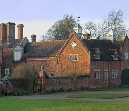 packwood: A view of packwwod house warwickshire Stock Photo
