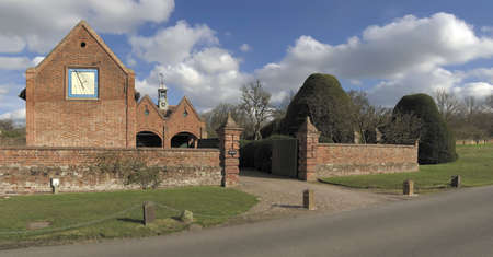packwood: packwood house warwickshire in the uk gb eu Stock Photo