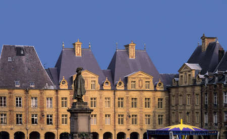 ducale: place ducale charleville-mezieres champagne-ardennes france europe Stock Photo
