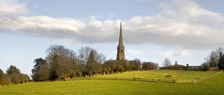 tardebigge: Tardebigge chiesa sulla rotta dei Sovrani modo a lunga distanza sentiero Worcestershire Archivio Fotografico