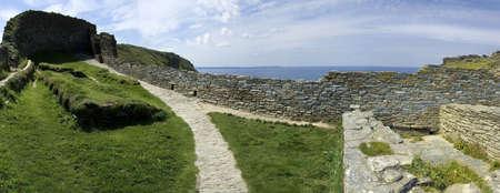 tintagel castle the cornish coast cornwall england uk Stock Photo - 2762334