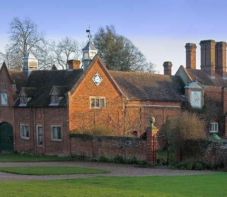 packwood: stately home packwood house warwickshire midlands england uk