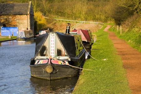 tardebigge: Il canale di Worcester e Birmingham nel villaggio di canale Tardebigge nel Worcestershire, le Midlands, Inghilterra. Archivio Fotografico