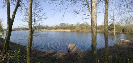 country park: Flecha valle lago parque pa�s redditch worcestershire england midlands uk