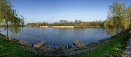 arrow valley lake country park redditch worcestershire midlands england uk Stock Photo - 2802957