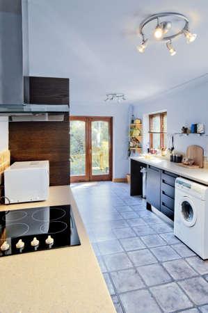 floor machine: cocina
