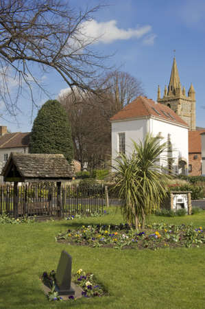 england worcestershire the historic market town of evesham Church of All St Lawrence  photo