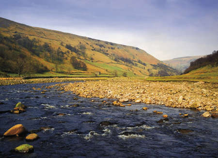 Swaledale in the Yorkshire Dales National park england uk Stock Photo - 2892032