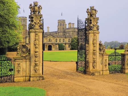 dostojny domu Castle Ashby Northamptonshire midlands england uk