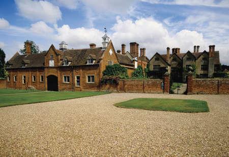 stately home packwood house warwickshire midlands england uk photo