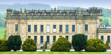 stately home: england derbyshire chatsworth house