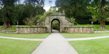 england derbyshire the formal gardens of chatsworth house photo