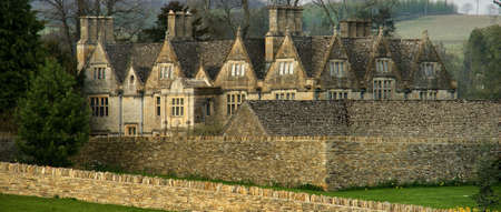 slaughter: upper slaughter village the cotswolds gloucestershire the midlands