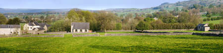 little longstone village in the peak district Stock Photo - 3109084