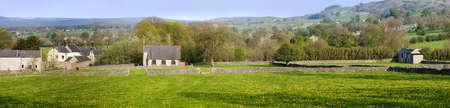 little longstone village in the peak district Stock Photo - 3109084