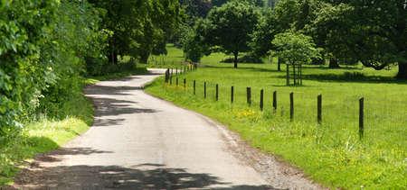 streifzug: Land der Spur Baddesley Clinton Estate Warwickshire midlands England UK