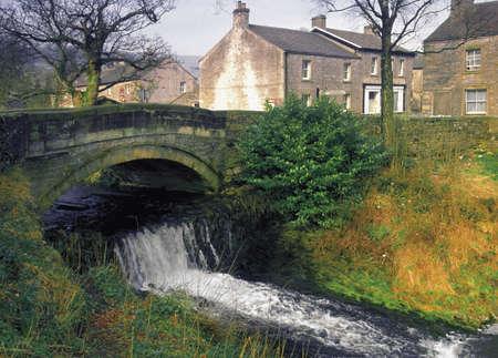 england yorkshire dales national park clapham village clapham beck