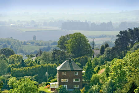 worcestershire:  the clent hills worcestershire england