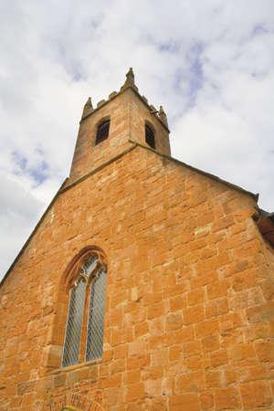 churchyard: maxstoke The Parish Church of St Michael churchyard sandstone 14th century warwickshire midlands england
