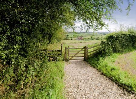 tardebigge: dal punto di vista il modo monarchi lunga distanza sentiero Tardebigge Worcestershire  Archivio Fotografico