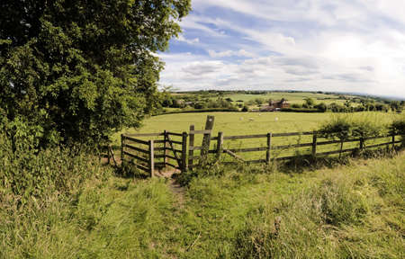 worcestershire: views from the monarchs way long distance footpath tardebigge worcestershire
