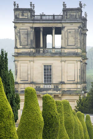 aristocracy: england derbyshire chatsworth  Stock Photo
