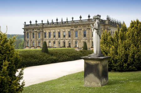england derbyshire chatsworth  photo