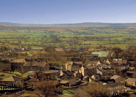 dales: england yorkshire dales national park ingleton village