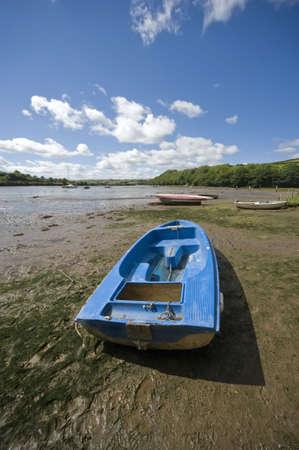 jamones: estuario del r�o Avon aveton Gifford sur jamones Devon England UK