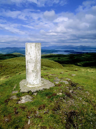 highland region: a glen in the scottish highlands Stock Photo