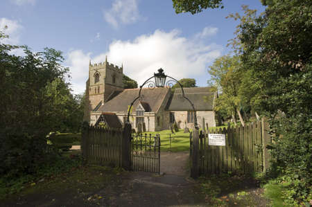 churchyard: churchyard beoley church warwickshire midlands