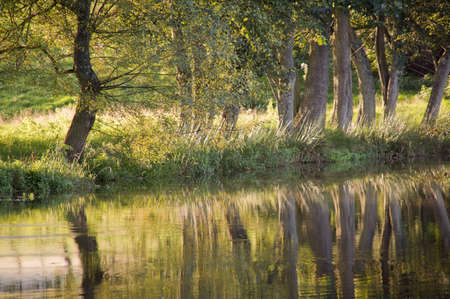 brecon beacons: monmouthshire and brecon canal brecon beacons national park powys wales uk Stock Photo