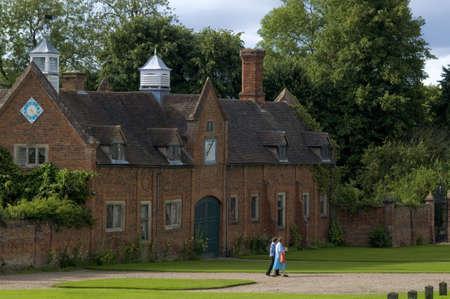 stately home packwwod house warwickshire midlands england uk photo