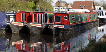 marina worcester and birmingham canal alvechurch worcestershire uk Stock Photo - 3962717