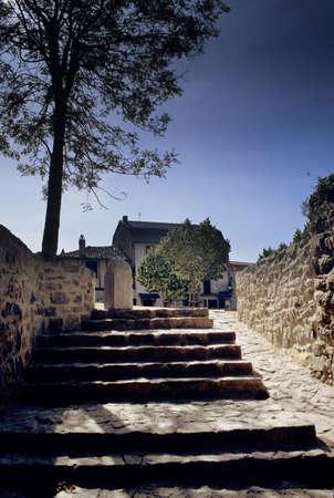 midi: france midi tarn medieval village of penne