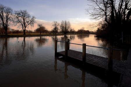 warwickshire: river avon stratford-upon-avon warwickshire england uk