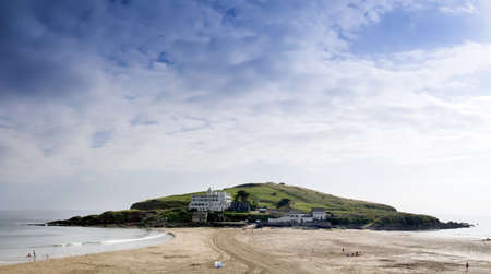 burgh: the holiday resort of bigbury on sea the south hams devon england uk