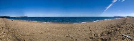 southwest: zand spugen op Slapton het zuiden hammen devon op de zuid-west kust pad