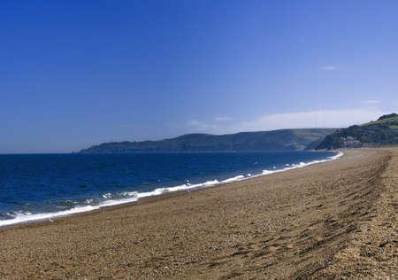 southwest: zand spit op slapton zuiden devon hams op de south west coast pad