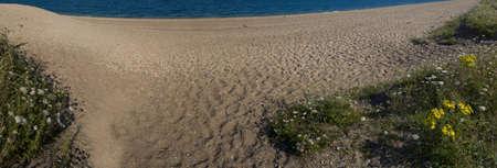 southwest: zand spit op slapton de south hams devon op de south west coast path