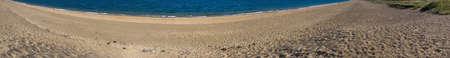 jamones: Slapton escupir arena en el sur de Devon jamones en la costa suroeste camino