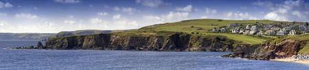 jamones: thornecombe arenas de vacaciones en la costa sur de Devon, en el sur jamones Inglaterra Reino Unido