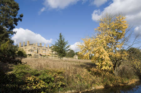 Batsford hall stately home near Moreton in the marsh the Cotswolds UK. photo