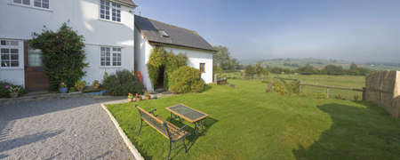 cottages brecon beacons national park powys wales uk