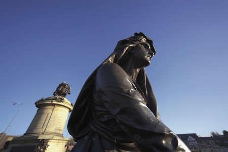 macbeth: Statue of lady macbeth Stratford upon Avon Warwickshire England United Kingdom Europe Stock Photo