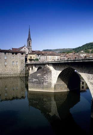 tarn: france midi pyrenees tarn et garonne river aveyron st antonin noble val