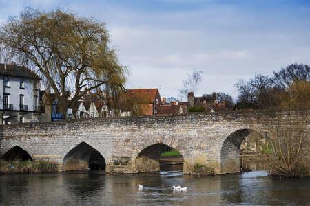 avon: River Avon Bidford on Avon Warwickshire The Midlands England