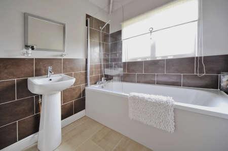 bathroom tiles: bathroom Stock Photo