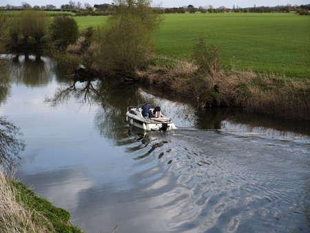river avon stratford-upon-avon warwickshire england uk Stock Photo - 4650658