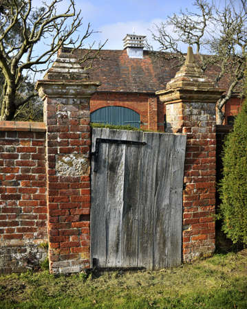 packwood: an old gate entrance to a garden